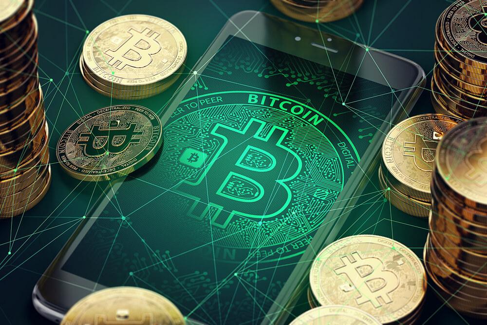 Bitcoin når du handler kryptovaluta