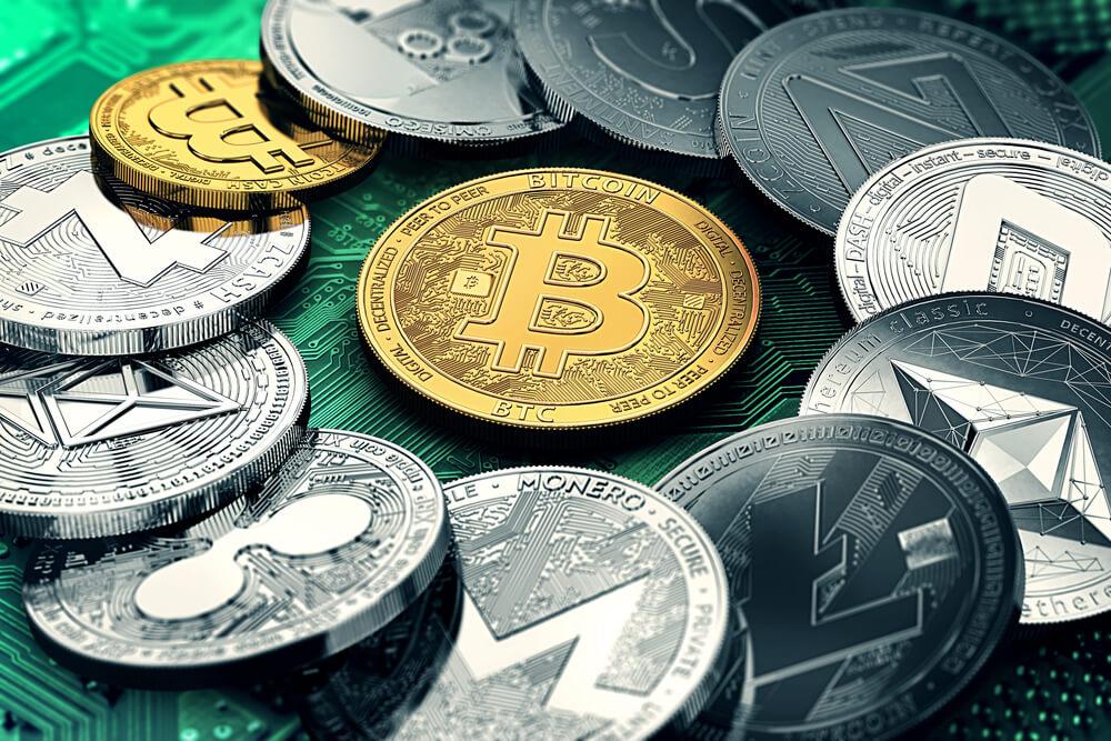 Kryptovalutalommebøker og forskjellige valutaer