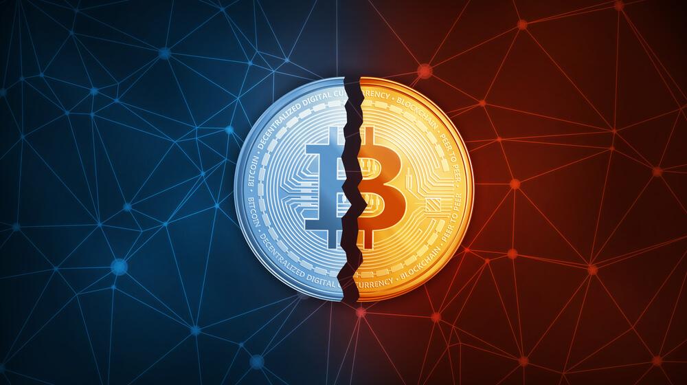 Fork Bitcoin og Bitcoin Gold