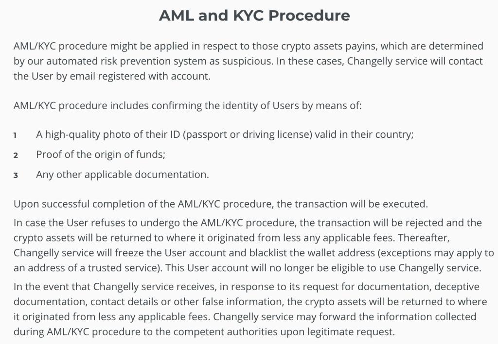 Changelly-AML